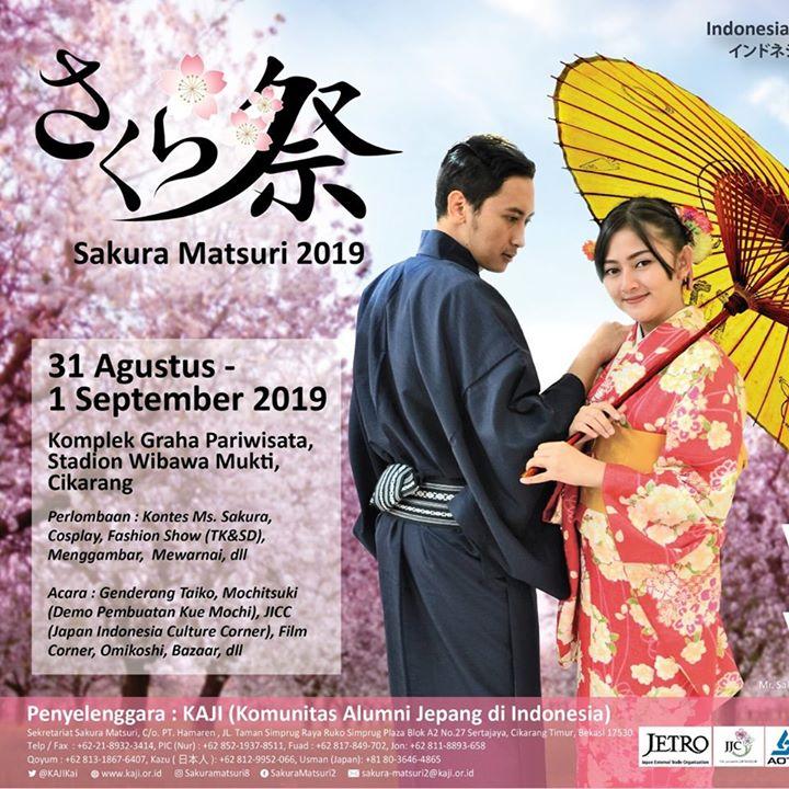Festival Sakura Matsuri 2019 di Cikarang