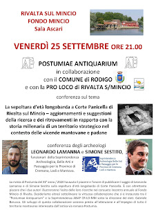 La sepoltura d'età longobarda a Corte Panicella di Rivalta sul Mincio