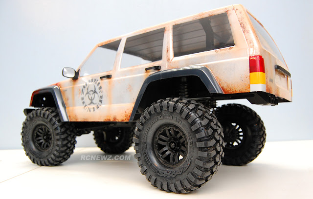 Traxxas TRX-4 rusty rat rod paint job