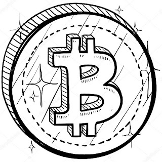criptomoeda, bitcoin, blockchain, minimalista
