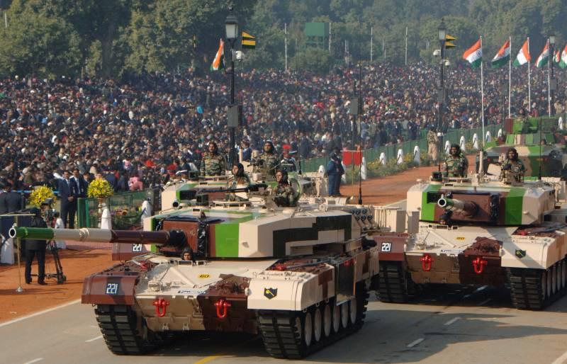 ОБТ Арджун Mk 1. Фото Міноборони Індії