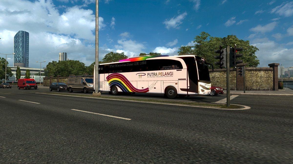 Traffic JB2HD dan JBHD - ETS2 V1 30 - Mod ETS2 Indonesia