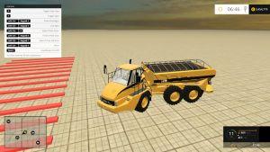CAT 725A manure spreader truck
