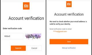 Account verification mi