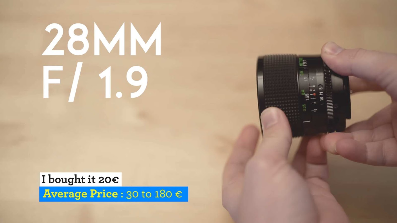 This Cheap Wide Angle Lens is one of the FASTEST 28mm Ever Made