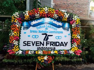bunga papan pernikahan oakwood hotel surabaya