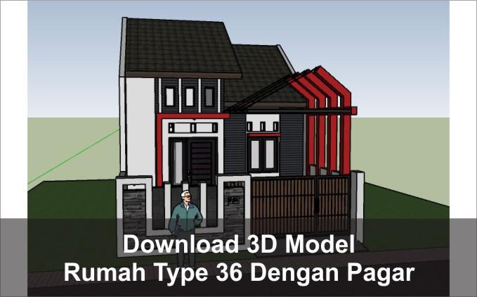 download rumah type 36 pagar