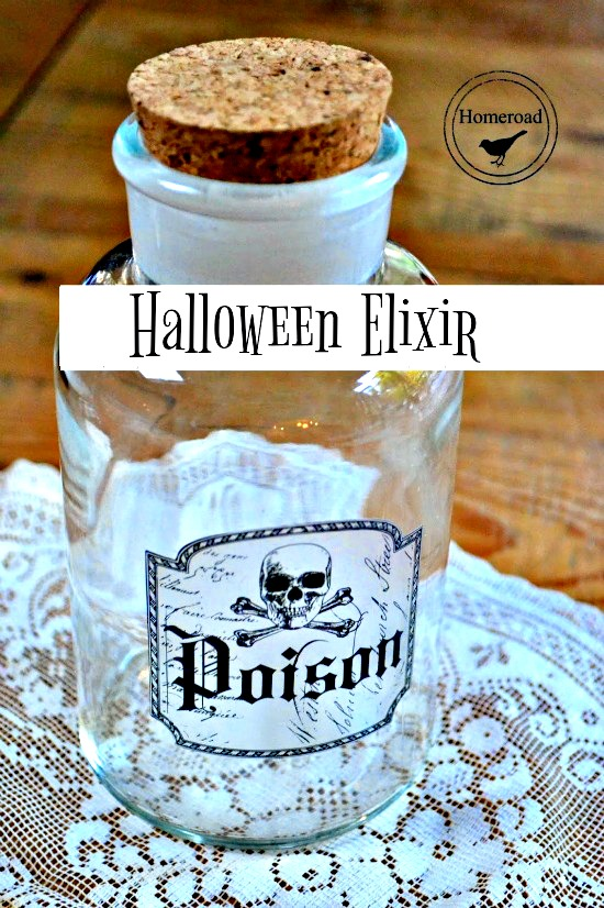 DIY Elixir Bottles for Halloween