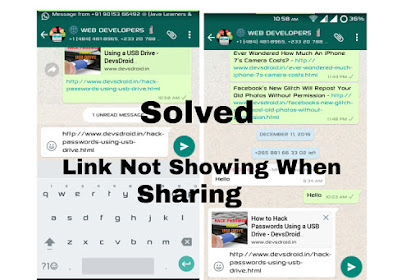 How To Fix Blogger/Blogspot Posts Image Thumbnail Not Showing On Whatsapp
