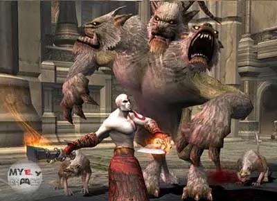 تحميل لعبة God of War 2 بحجم 200 ميجا بايت