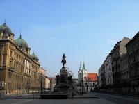 plac matejki krakow