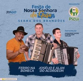Em Picuí, Distrito de Serra dos Brandões viverá festividades da padroeira com apoio do Governo da Participação