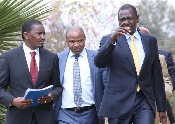 Image result for Mwangi Kiunjuri with Ruto