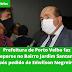 Prefeitura de Porto Velho faz reparos no Bairro Jardim Santana após pedido de Edwilson Negreiros