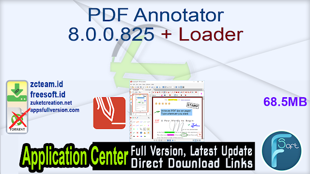 PDF Annotator 8.0.0.825 + Loader