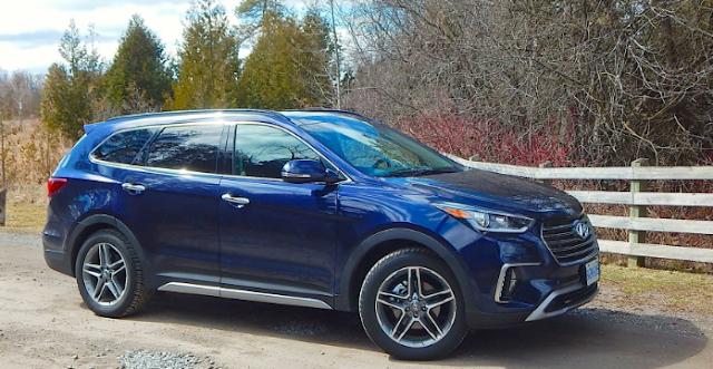 2017 Hyundai Santa Fe AWD Review