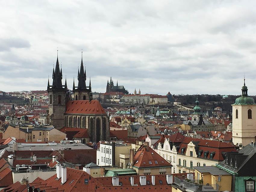 Praga è una città ricca di arte e architettura