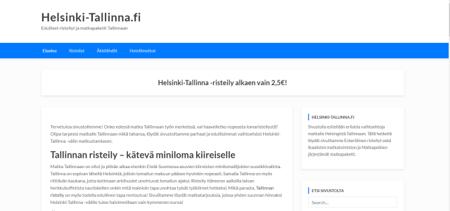 Helsinki - Tallinna