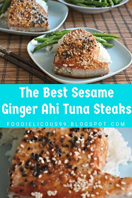 The Best Sesame Ginger Ahi Tuna Steaks