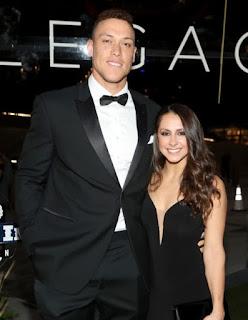 Aaron Judge With Last Known Girlfriend Samantha Bracksieck