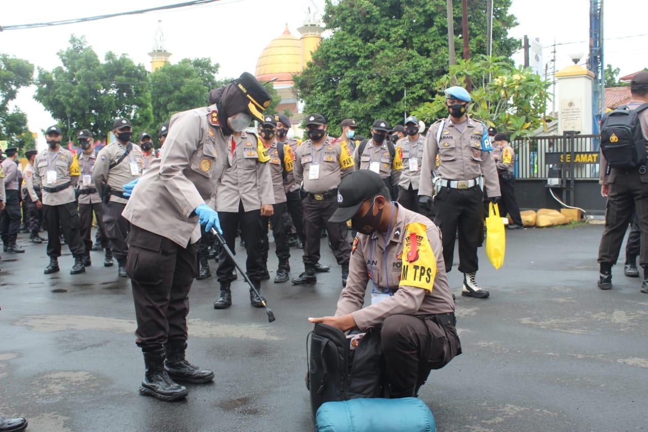 AKBP Sumarni: 576 Personel Polres Sukabumi Kota Diterjunkan Untuk Mengamankan Pilkada