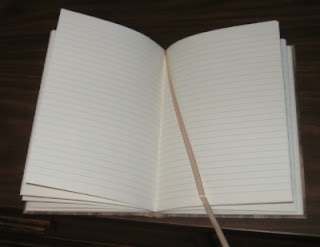 Just the basic blank lined pages