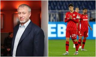 Bayer leverkusen boss praise Chelsea owner Roman Abramovich for paying Havertz's enormous asking price