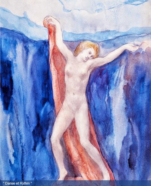 Khalil Gibran Painting Danse et Rythm