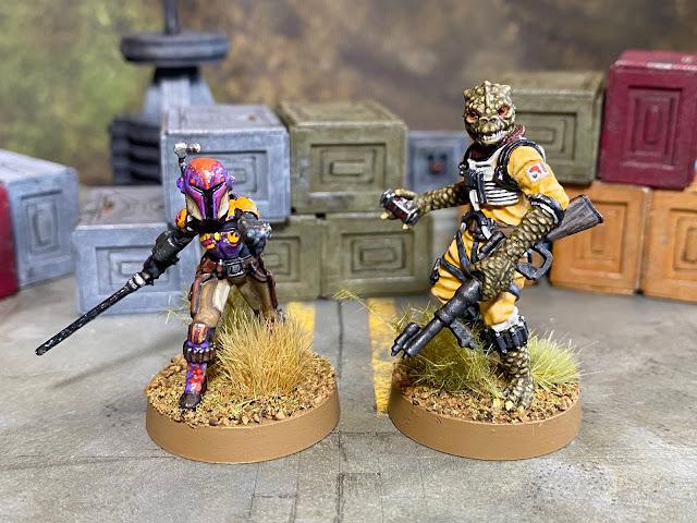 Star War Legion Sabine Wren and Bossk