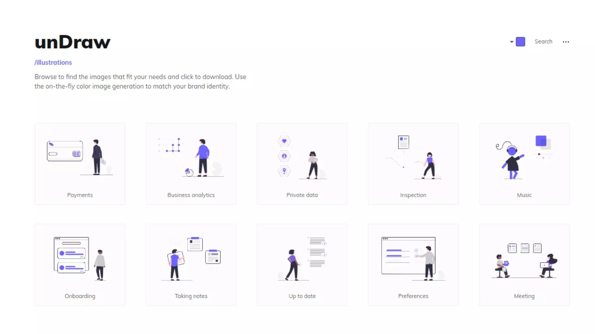 Undraw free illustration resource