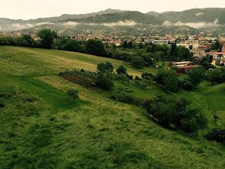 View north over Baluardo della Fara.