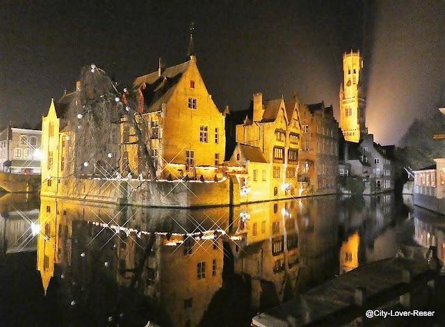 Chrismas in Bruges, Belgium