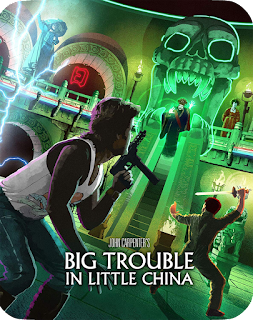 The Vault Master's Pick of the Week for 12/03/2019 is Scream Factory's Steelbook of BIG TROUBLE IN LITTLE CHINA!