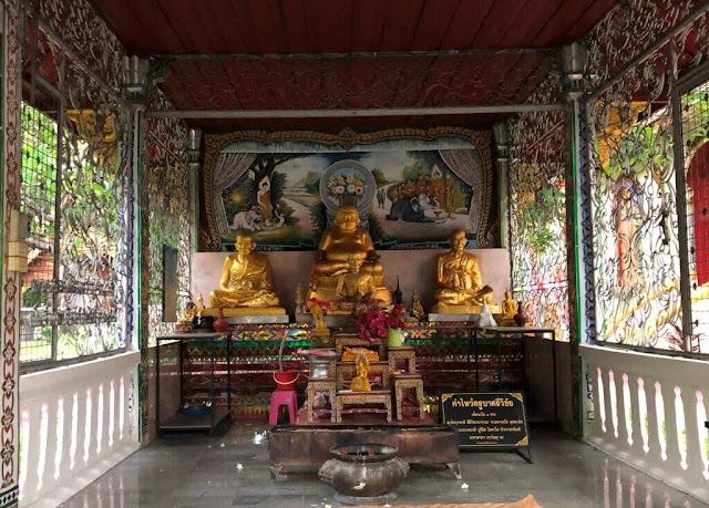 Wat Chiang Man - Férias em Chiang Mai