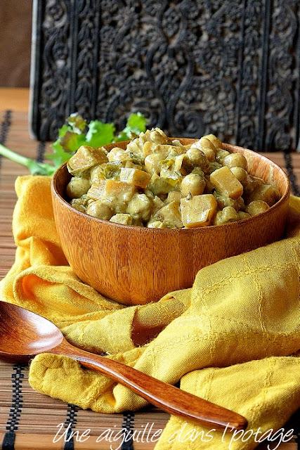 Curry-pois chiches-rutabaga-kale-lait de cooc