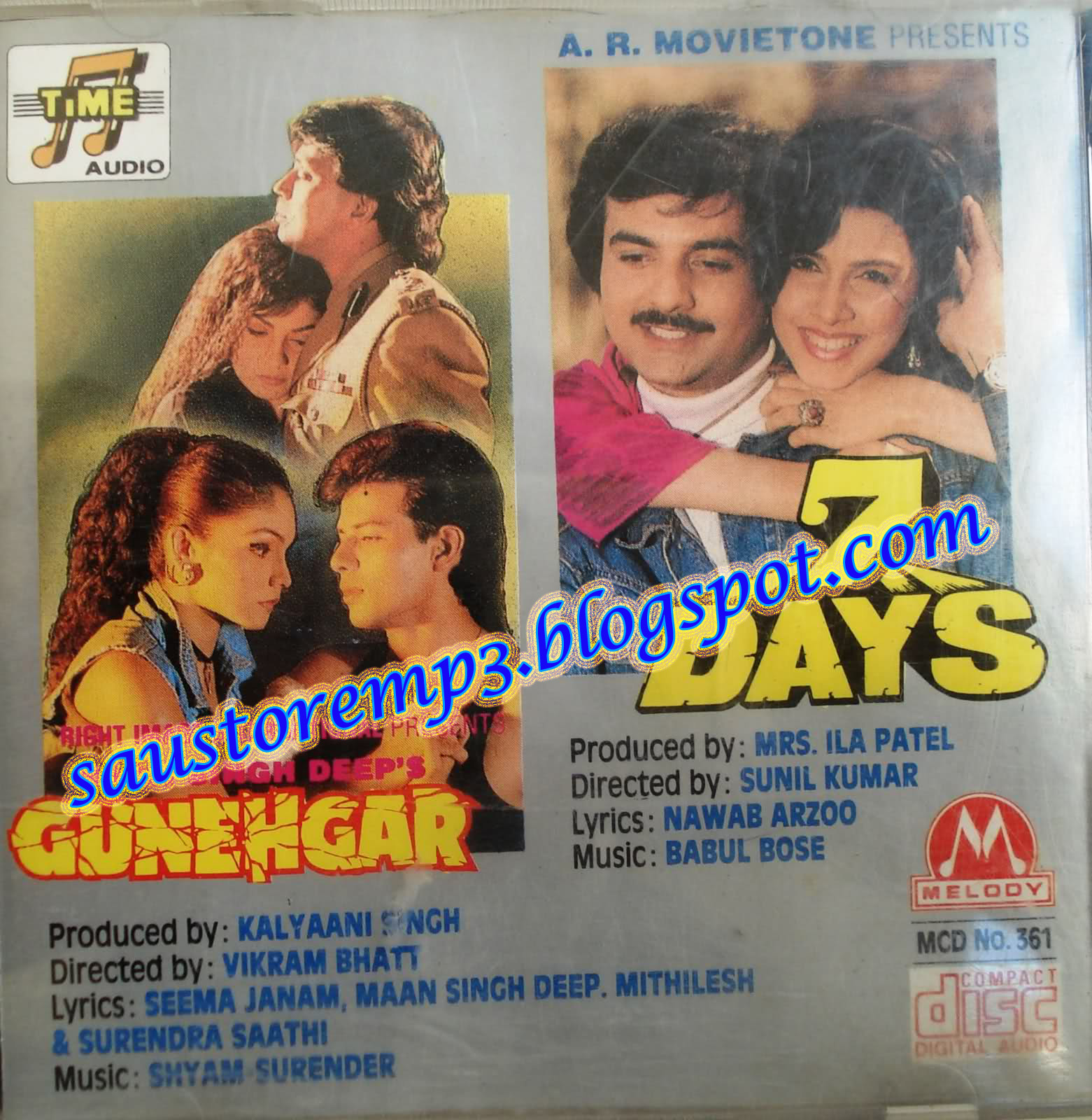 www saustoremp3 blogspot com: Gunehgaar & 7 days [1995-MP3