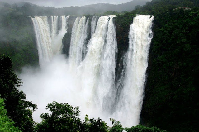 largest waterfalls in india
