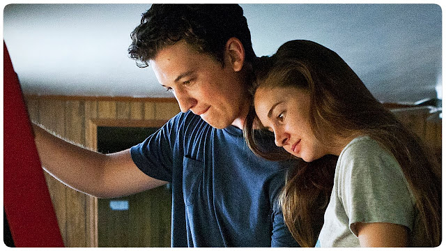 Image of Miles Teller and Shailene Woodley in The Spectacular Now based on the book by Tim Tharp