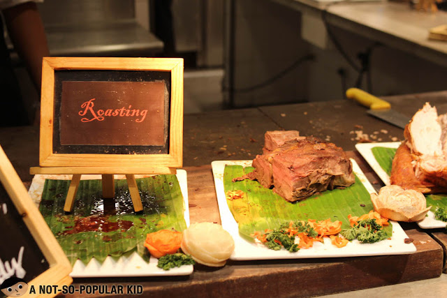 Roasted beef in Four Seasons
