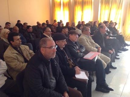 اللقاء التواصلي حول تنزيل التدبير الأول من التدابير ذات الأولوية بإقليم مولاي يعقوب