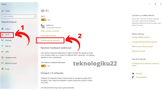 cara mengatasi  can't connect to this network pada windows 10