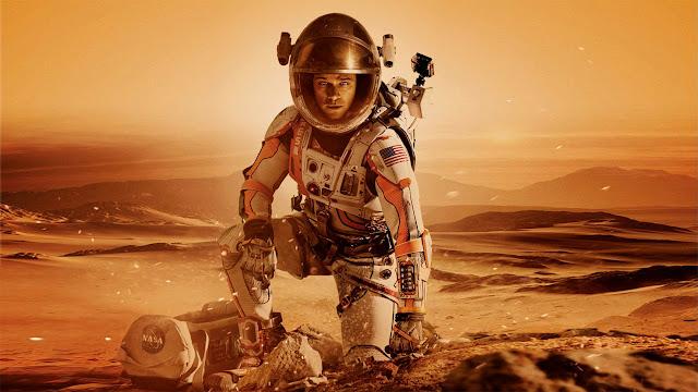 Neste deserto vermelho foram gravados vários filmes sobre Marte