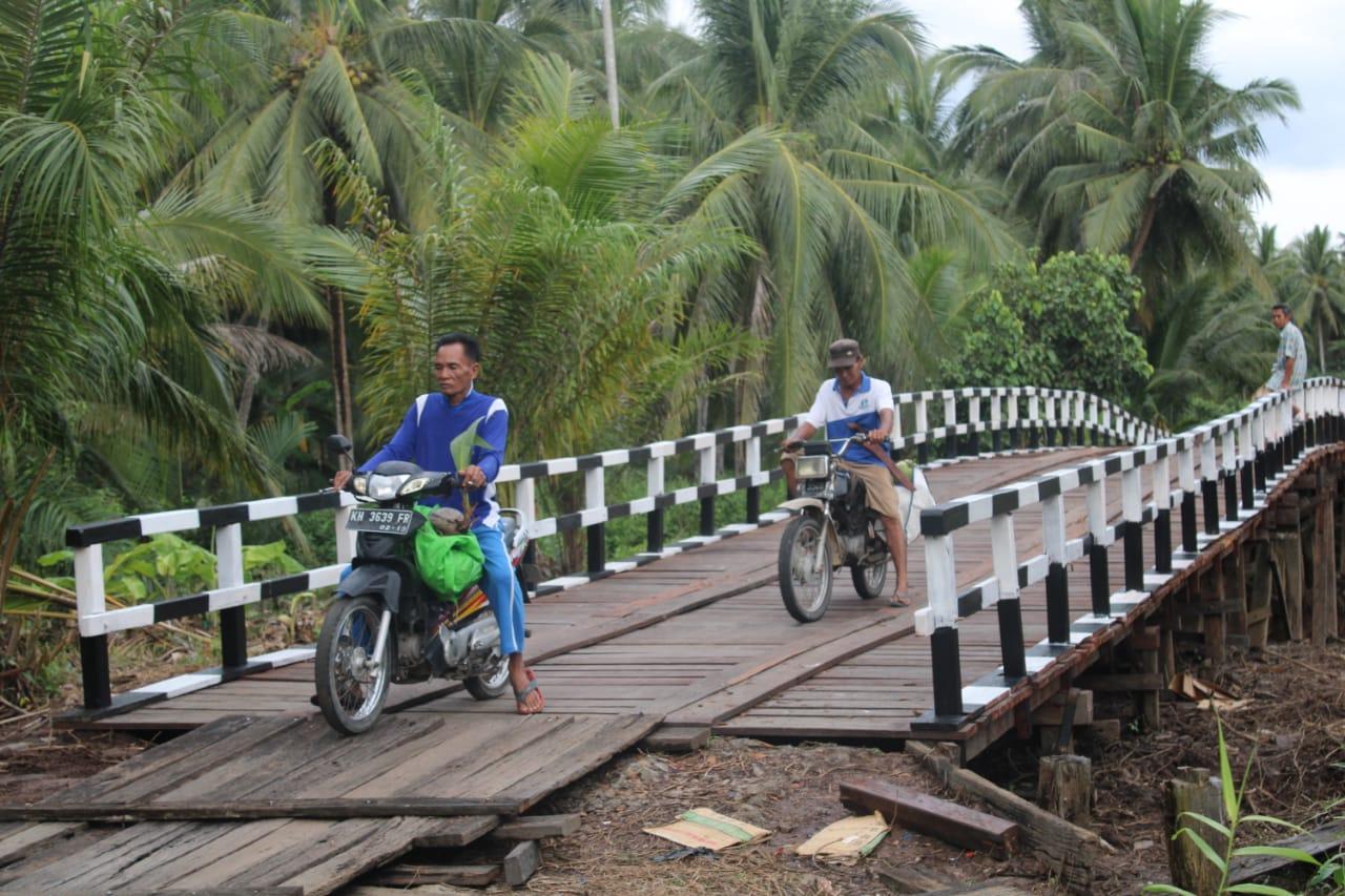 Jembatan hasil TMMD