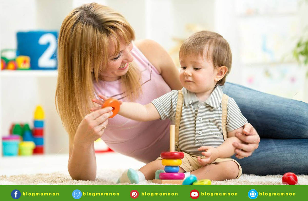 Đồ trẻ em giá rẻ - Sự tương tác của bé với cha mẹ