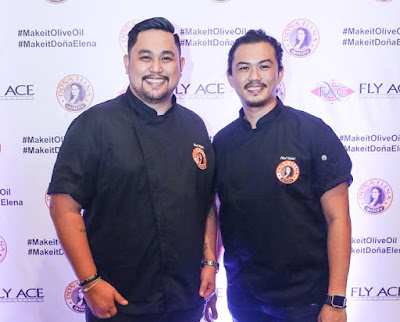 Chef Mikel Zaguirre and Chef Kalel Chan