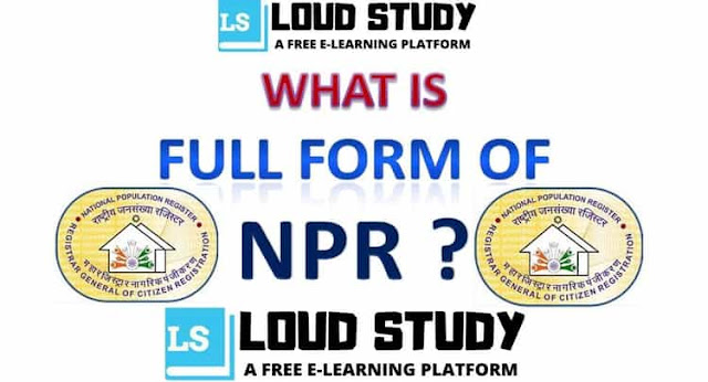 What is the full form of NPR