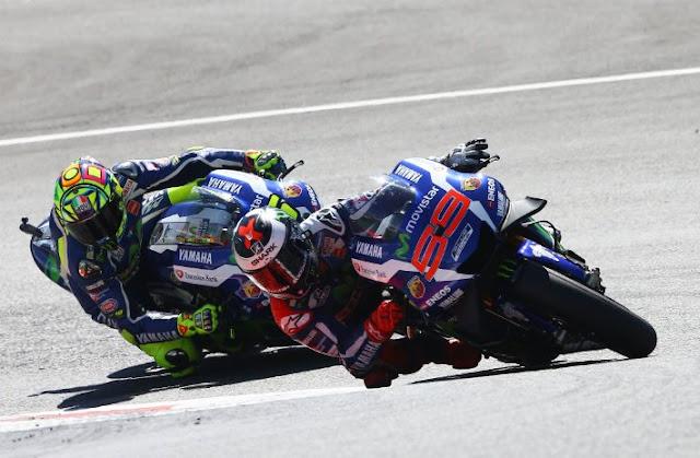 Rossi : Saya Ingin Podium, Tapi Sulit Salip Lorenzo