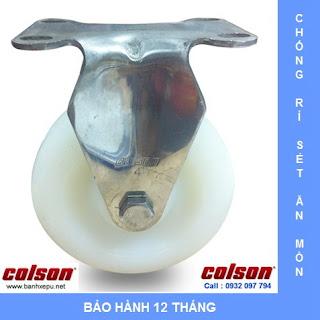 Bánh xe Nylon càng bánh xe inox 304 | 2-3308SS-254