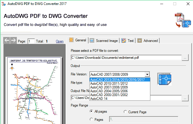 AutoDWG PDF to DWG Converter Pro 2019 v3 9 1 Crack + Patch +