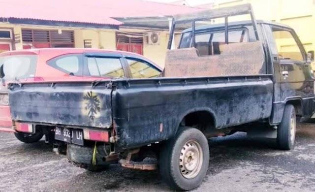 Oknum Polisi Sarolangun Tertangkap Curi Mobil Warga Merangin